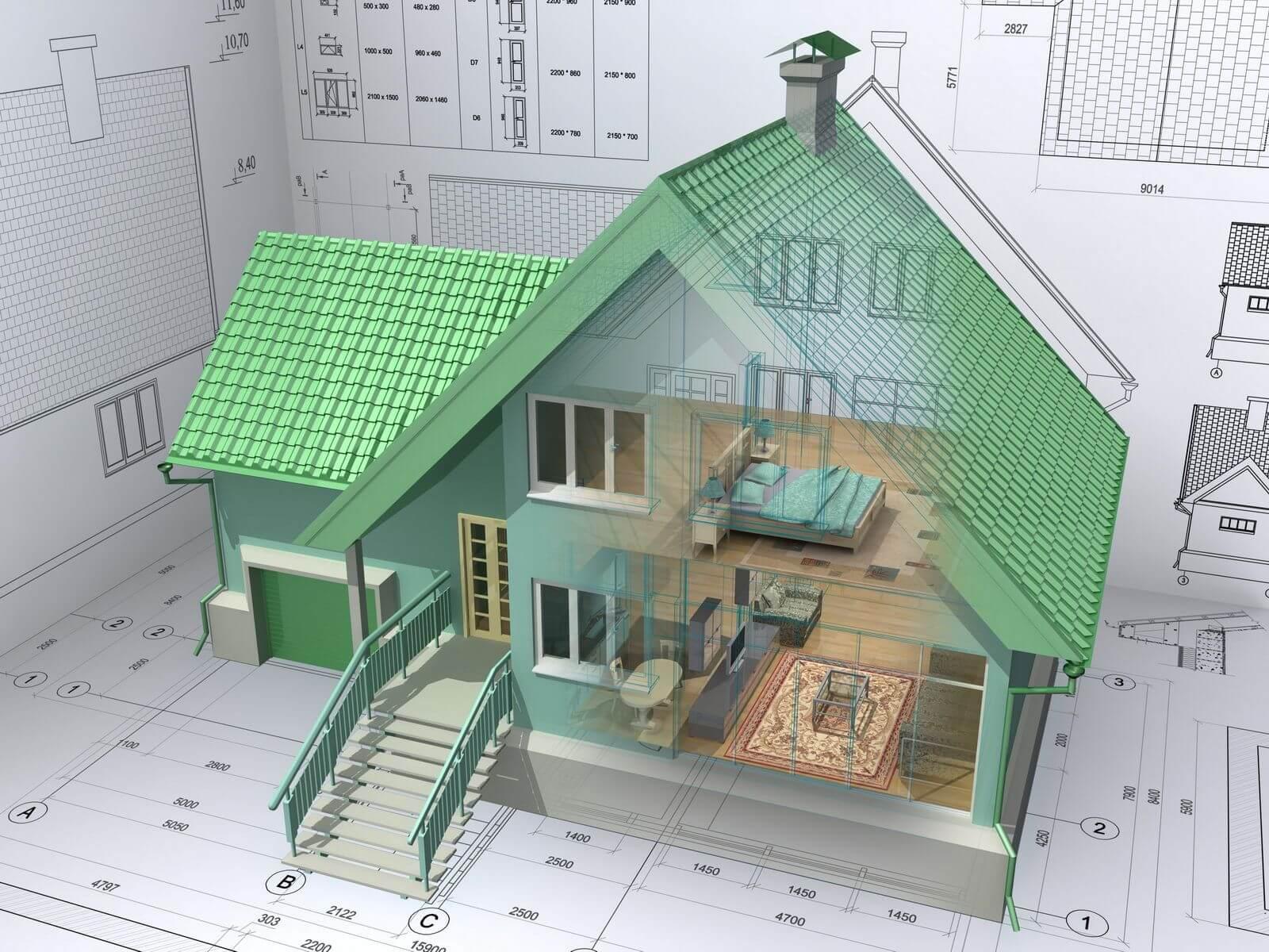 Частный дом строительство своими руками фото 43