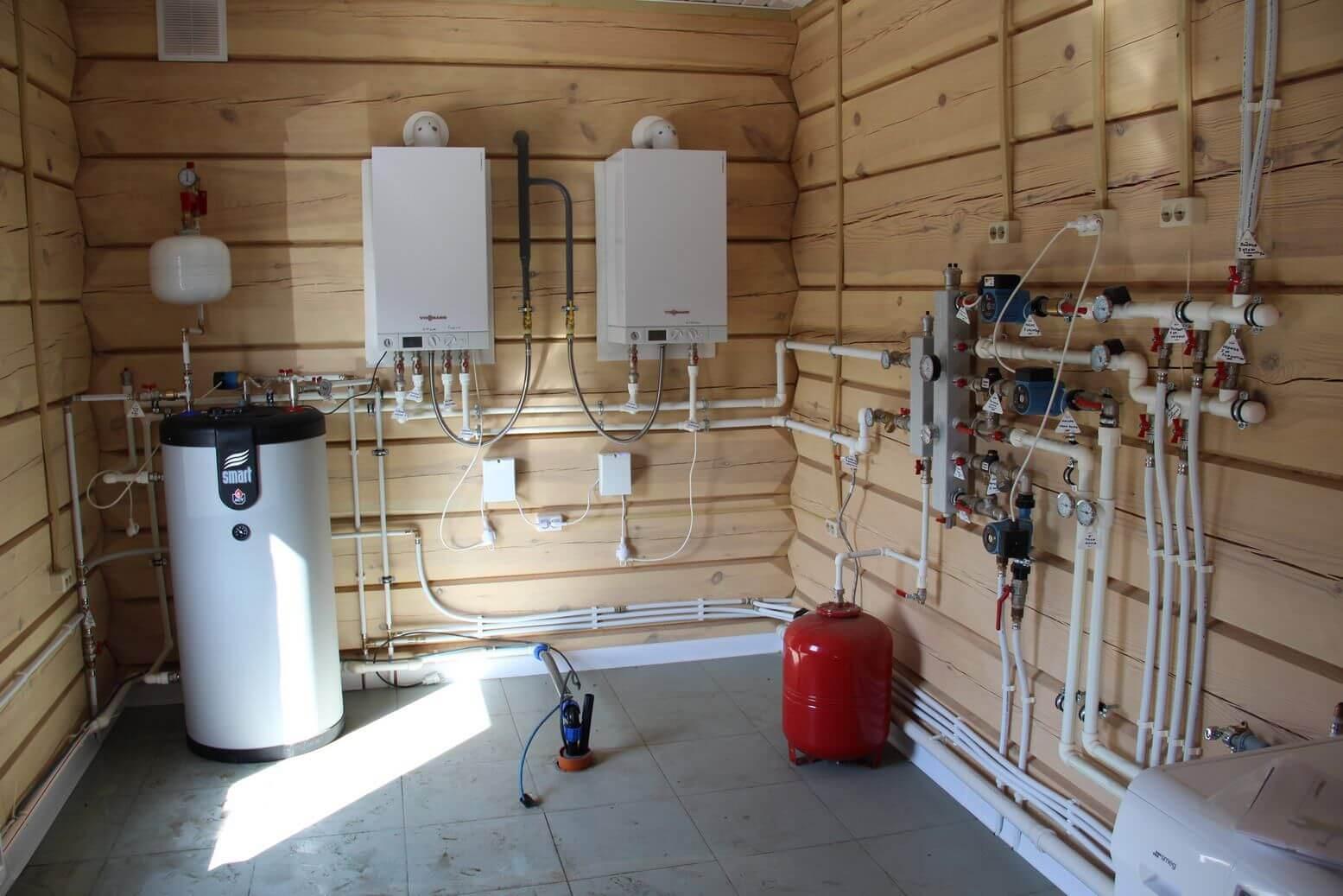 Двухтрубная система отопления частного дома: схемы