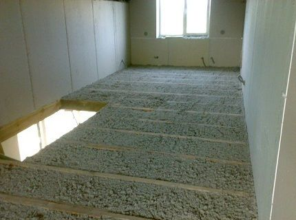 Как делается звукоизоляция потолка в доме с деревянными перекрытиями